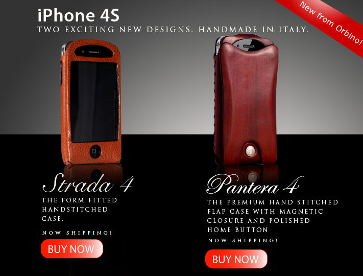 Orbino Premium Cases for the iPhone 4S and iPhone 4 346a4b12e4d4